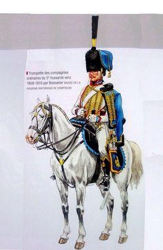 Tromba del 5 rgt. ussari francese