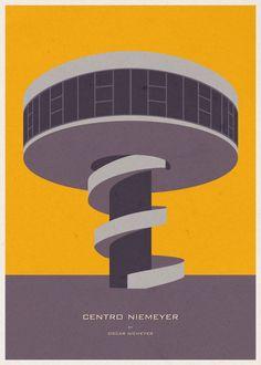 André Chiote: Ilustraciones de Arquitectura/Centro Niemeyer
