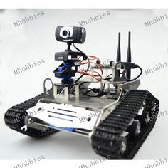 Arduino Wifi Robot Tank Chassis Kit MT7620N Openwrt Robot-LinkV5.0 Module with iOS / Android APP