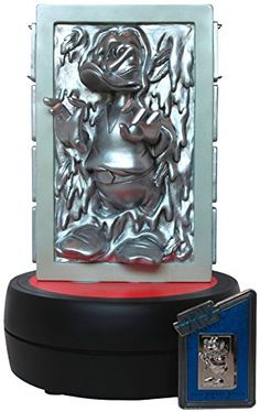 Disney Parks Limited Edition 2014 Star Wars Weekends Donald Duck as Han Solo in Carbonite Sculpted Statue with Limited Edition PIn Disney