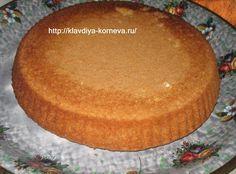 Рецепт простого бисквита
