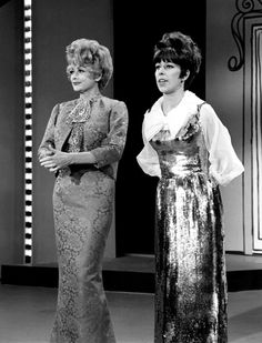 Lucille Ball & Carol Burnett - Two of my favorite role models as a kid.