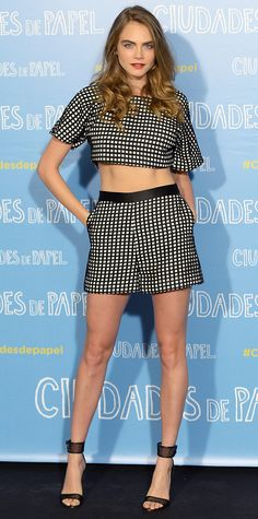 Look of the Day - June 15, 2015 - 'Ciudades de Papel' Madrid Photocall from #InStyle