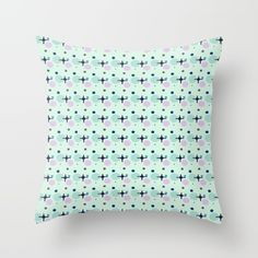 Buy it online. #pillow #cushion, #decor home #decoration, #decorative light colors, #mint #pink #aqua details, #sunnyday style #lively #fashionable #contemporary #modern #pattern design, almohada cojin para decoracion de la sala o recamara, #hamtz