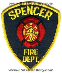 Spencer Fire Department Patch.