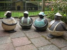 raku love these how about making an animal head on these!
