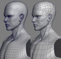 P)Real type character modeling Zbrush Character, 3d Model Character, Character Modeling, Maya Modeling, Modeling Tips, 3d Human, Human Body, 3d Modellierung, Face Topology