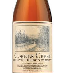Corner Creek Bourbon. Wish there was a better selection of Bourbon available in Iceland.