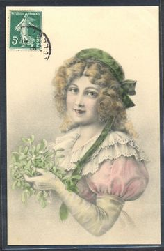 NP056 VIENNE Style a/s WICHERA BEAUTIFUL LADY MISTLETOE