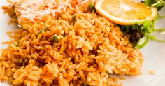 This Easy Spanish Rice Recipe makes a nice side dish to go with enchiladas and other Mexican food favorites. Serve with Refried Beans for a complete meal!