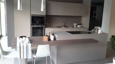 Cucina con isola Zampieri Cucine Line K a Vicenza