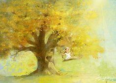 Екатерина Бабок. Прекрасное детство. - Одна из самых больших удач в жизни человека – счастливое детство, заметила однажды Агата Кристи. О том, какое оно, наполненное безоблачным счастьем детство, кажется, точно знает белорусский иллюстратор Екатерина Бабок. И ще�