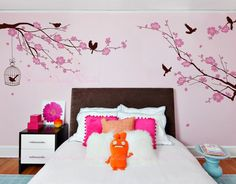 Nursery wall Decal Wall Sticker Kids Vinyl Decals-Cherry