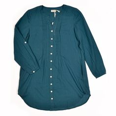 Button up Tunic - More Than Half clothing