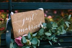 Just married sign wood just married sign hanging just