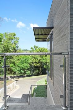 Stainless steel mirror polish handrail and posts