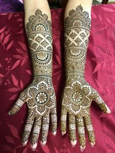 50 Most beautiful Front Hand Mehndi Design (Front Hand Henna Design) that you can apply on your Beautiful Hands and Body in daily life. Mehandhi Designs, Indian Henna Designs, Latest Bridal Mehndi Designs, Full Hand Mehndi Designs, Henna Art Designs, Mehndi Designs 2018, Modern Mehndi Designs, Mehndi Design Pictures, Mehndi Designs For Girls