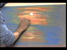 Painting With Pastels on WTJX Channel 12 | Sunset