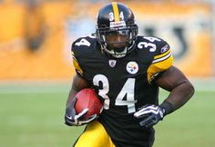 Rashard Mendenhall. Pittsburgh Steelers