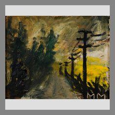 Mauno Markkula: Auringonlasku, öljy levylle, 28x36 cm - Bukowskis 2015 Nordic Art, Finland, Scandinavian, Painting, Image, Painting Art, Paintings, Painted Canvas, Drawings