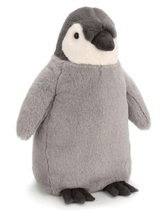 Soft toys from Jellycat never fail to delight, and with good reason too. Made from super soft plush and featuring an adorable friendly face and suedey soft feet, this baby penguin really is irresistible. Percy Penguin is ready to waddle into open arms for Soft Feet, Jellycat, Little Elephant, Baby Boutique, Kind Mode, Little Babies, Polar Bear, Snuggles, Unisex