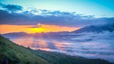 Sunrise at Mt Batur Indonesia