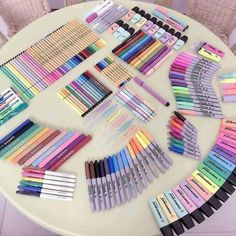 Tag someone who wants these Tag someone who wants these 🔥 Stationary Organization, Stationary Supplies, Stationary School, Cute Stationary, School Stationery, Room Organization, Art Supplies, Study Room Decor, Cute Room Decor
