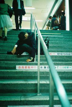 ✌ LIFE SNAP ✌ - SHIORI IKENO #salaryman #tokyo #drunk