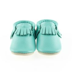 Robin's Egg is a bright blue with a hint of green. Going Home Outfit, Robins Egg, Baby Shoes, Eggs, Bright, Blue, Collection, Girls, Style