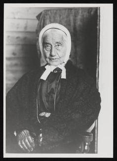 'ANNA MARIA FOX OF PENJERRICK' (c.1897) | Photographer unknown: Glass negative     ✫ღ⊰n
