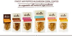This week I discovered the fabulous Joe&Seph popcorn. They have created gorgeous combinations from caramel, white chocolate and strawberry to goats cheese and black pepper!