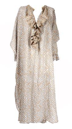 Dress Ruffle Ocean Ruffle Dress, Kaftan, Dresser, Tunic Tops, Ocean, Fashion, Moda, Powder Room, Fashion Styles