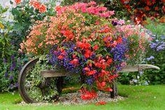 Különleges virágtartók, kreatív virágoskertek