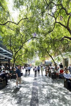 Pitt Street Mall Public Domain - Sydney Design Awards 2013