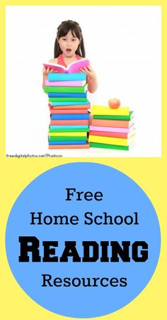 56 Free Homeschool Reading Resources Free Home School Reading Resources Learning Tips, Home Learning, Learning Activities, Toddler Learning, Reading Resources, Teaching Reading, Teaching Kids, Free Reading, Reading Projects