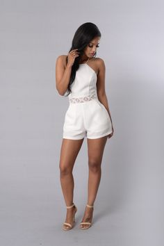 - Available in Off White - Sleeveless - High Neck - Crochet Contrast - Zipper Back - Lined - 100% Polyester