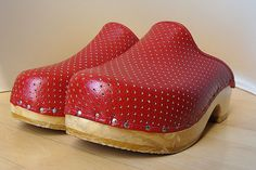 Great red Clogs. Good old Berkemann - they never come back?!