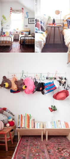 500 sq ft apartment with kid's room