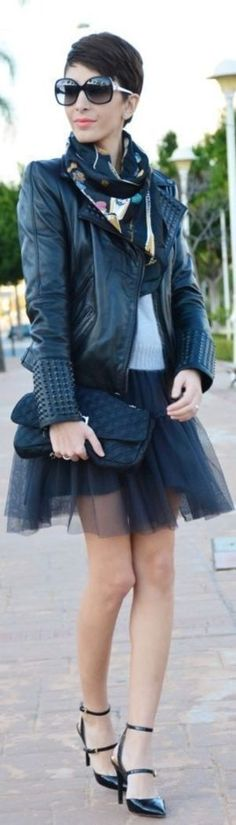 Jupon en tulle : cool Jupon en tulle : Tulle Skirts for the Holidays Check more at trends.flashmo