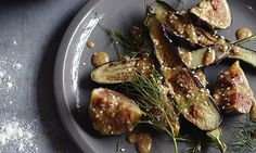 Cook - sesame-fried aubergine and fig