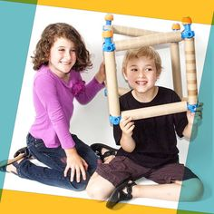 Toobalink is an ingenious new building toy specifically designed to be compatible with empty paper towel tubes and toilet tissue tubes. You can build whatever you want!
