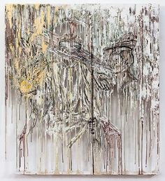 DIANA AL-HADID - from  Marianne Boesky Gallery,  The Wizard when Blindfolded, 2013