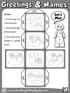 Funtastic English 1 - Graders - ESL teaching resources for graders English Primary School, English Classroom, Classroom Language, Teaching English, English Worksheets For Kids, English Activities, Activities For Kids, English Fun, English Lessons