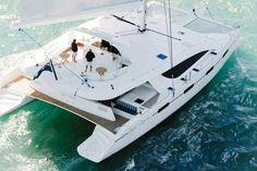 Luxury catamaran King's Ransom, model Matrix Silhouette 76 for hire in Croatia, Greece and Turkey Luxury Sailing Yachts, Sailing Catamaran, Sailing Trips, Speed Boats, Power Boats, Catamaran Design, Sunreef Yachts, Ocean Cruise, Classic Yachts