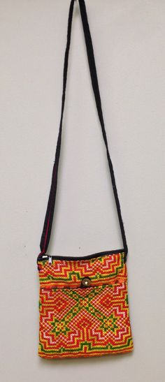 Chinese Hmong Hill tribe Embroidered Purse by WorldofBacara on Etsy $28.00