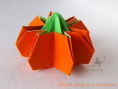 Citrouille en origami