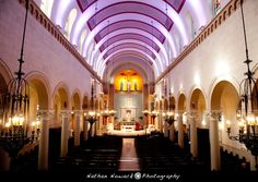 St Monica S Church In Santa California Wedding Venue Nathan Nowack