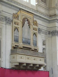 The organ in the The Monreale Cathedral Sicily, Italy