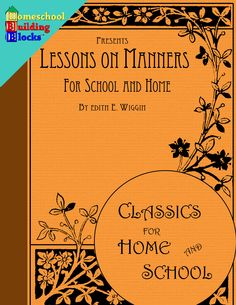 Here is a GREAT 37 page PDF resource to teach #children about #manners. Topics covered include: how to treat elders, how to behave with siblings, table manners, manners when traveling, proper church behavior, the rules of borrowing, and much more!