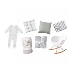 Get baby ready in style with these affordable items from @targetaus, that would be perfect for decorating a gender neutral nursery. So much sweetness! Featured are the $8 Hedgehog Print Coverall, $15 Grey Grid Printed Cushion, $15 Double Sided Cushion in Grey, $20 Knitted Pram Blanket in Dream, $20 Large Service Fabric Hamper, $10 Three Pack of Muslin Wraps, and the $79 Replica Eames DAR Rocking Chair. #target #targetaus #nursery #baby #nurseryinsporation